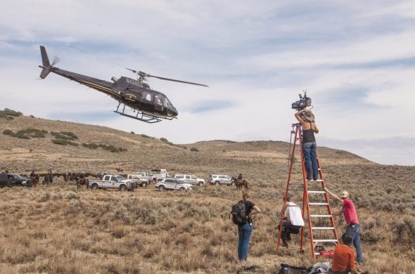 "Shooting ""Yellowstone"", a 10 part series filmed in Utah, Summer 2018. The Paramount Network series will be spending $28 million in the state and hiring about 320 local cast and crew."